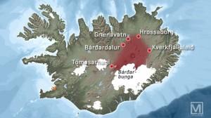 Alle Pisten zwischen Myvatn und Vatnajökull sind aus Sicherheitsgründen seit dem 07.08.2014 geschlossen.