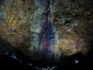 Eindrücke der Magmakammer von Thrihnukagigur. Ausflug Inside the Volano. 15.06.2012