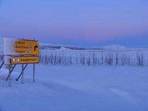 Auf dieser Wintertour gibt es Sehenswürdigkeiten in allen Richtungen. 02.01.2012