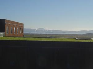 Ein schöner Tag kündigt sich an am Myvatn. Blick vom Hotel. 30.08.2015