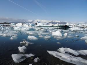 Touristenmagnet Gletscherlagune Jökulsarlon - wie lange gibt es sie noch? 06.09.2015