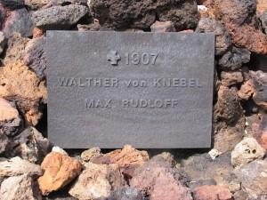 Zum Gedenken der Verschollenen im Askjasee. 04.08.2012