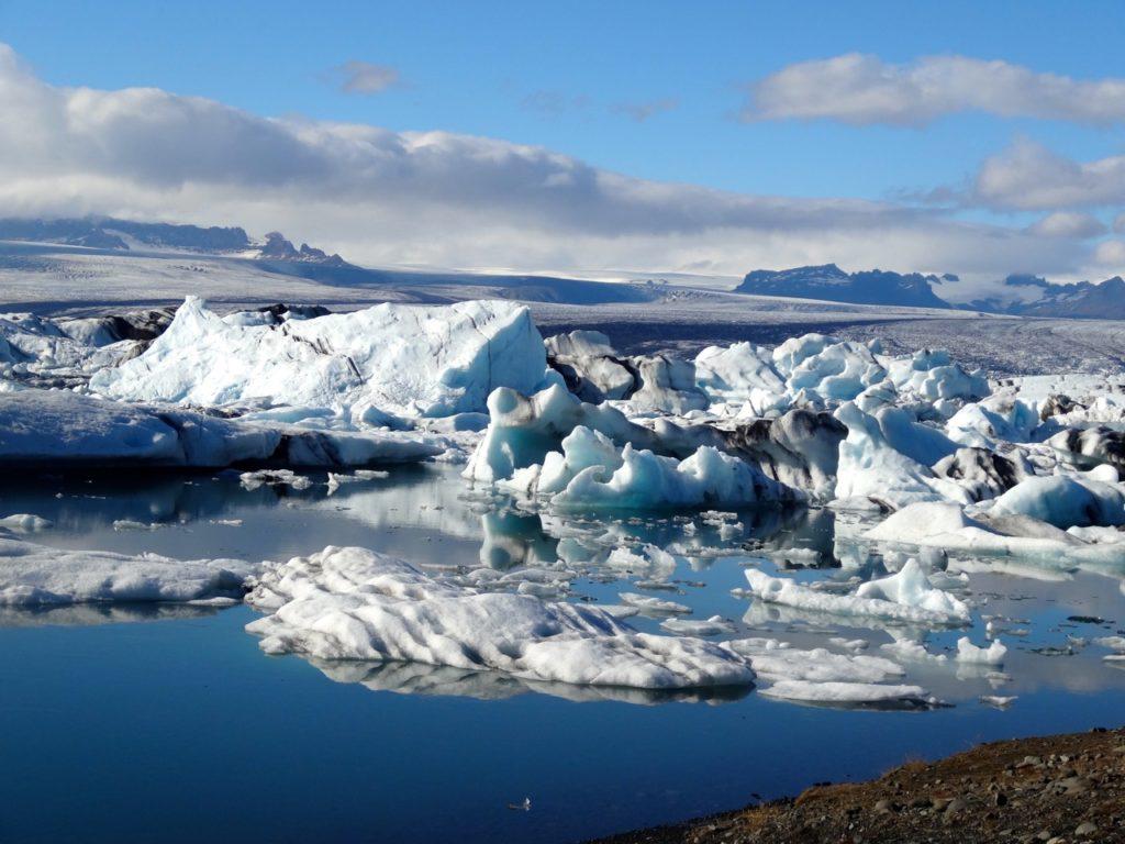 Naturperle Gletscherlagune Jökulsarlon. 09.09.2013